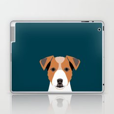 Bailey - Jack Russell Terrier phone case art print gift for dog people Jack Russell Terrier owners Laptop & iPad Skin