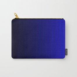 Rich Vibrant Indigo Blue Gradient Carry-All Pouch