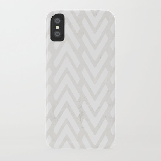Chevron Tracks iPhone Case