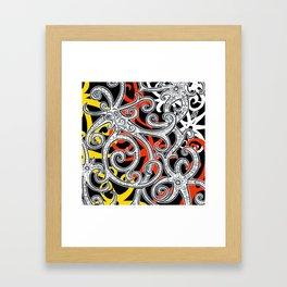 Sarawak Hornbill Framed Art Print