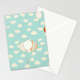 Balloons that Fly Stationery Cards