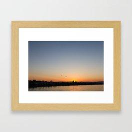 Rheinufer Framed Art Print