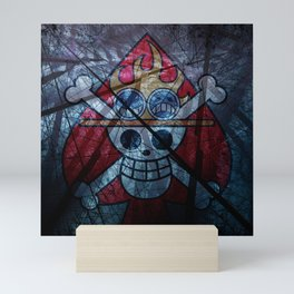 Pirate flag with Dark Forest 1 Mini Art Print
