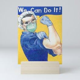 We Can Do It 2020 Mini Art Print
