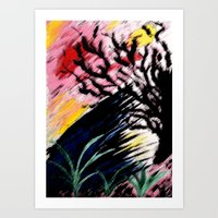 philosophy Art Prints featuring Philosophy by Jessica Nicole Pacheco