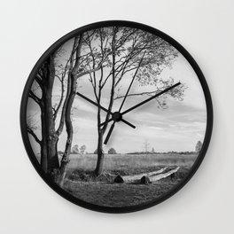 Peaceful Countryside Wall Clock
