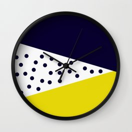 Cult Living Scandinavian Abstract Dot Cushion #society6 #decor #buyart #artprint Wall Clock