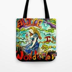 Alice in Wonderbra  Tote Bag