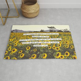 Jeremiah Sunflowers Rug