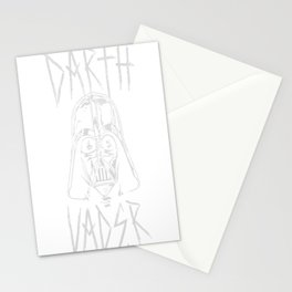 Darth Vader Metal Stationery Cards