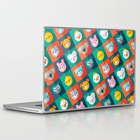 jazzberry Laptop & iPad Skins featuring PET PARADE by Daisy Beatrice