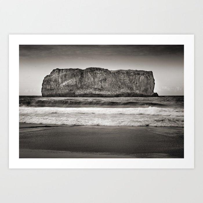 Andrin beach Art Print