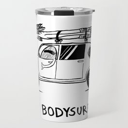 I HEART BODYSURFING Travel Mug