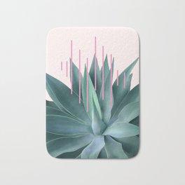 Agave geometrics II - pink Bath Mat