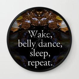 Belly dance Wall Clock