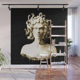 Gold Medusa Wall Mural