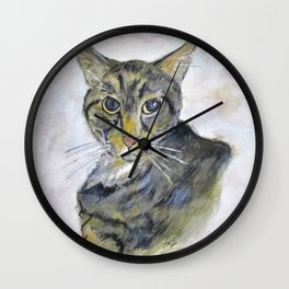 Chloe The Cat Wall Clock