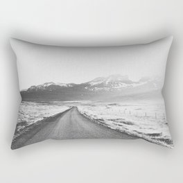 ON THE ROAD XX / Iceland Rectangular Pillow