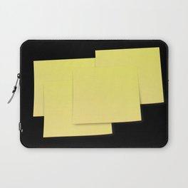The Devil is in the detail: Post-it 2 dark Laptop Sleeve