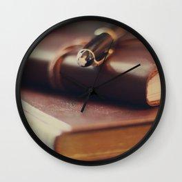 Journaling Wall Clock