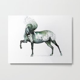 Cresting Wave Horse Metal Print