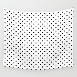Dots (Black/White) Wall Tapestry