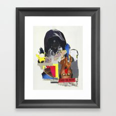 CRUTSH Framed Art Print