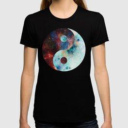 Ying-Yang Galaxy T-shirt