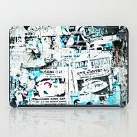 posters iPad Cases featuring posters by Renee Ansell