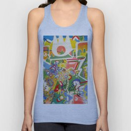 Who Does Your Love Serve? Unisex Tank Top