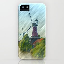 At the mills iPhone Case