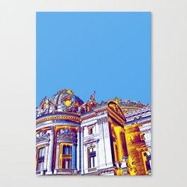 Archi-Texture Mood Canvas Print