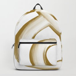 Ampersand Gold/White Stroke Backpack