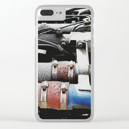 The engine revives again Clear iPhone Case