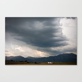 Boulder, CO Canvas Print