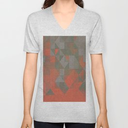 Faceted Vibes Unisex V-Neck