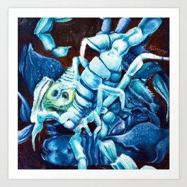 Escher's Scorpion Art Print
