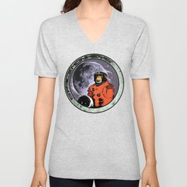 Space Monkeys Unisex V-Neck