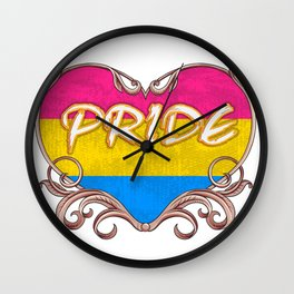 pride - Gay Pride T-Shirt Wall Clock