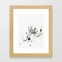 the florist Framed Art Print