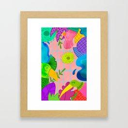Pajarera Framed Art Print