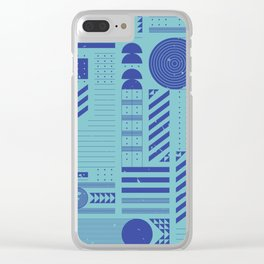 TOPOLOGIE Clear iPhone Case