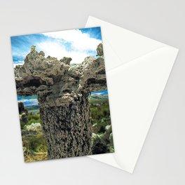 Mono Lake, California - Tufa Formation in Desert Stationery Cards