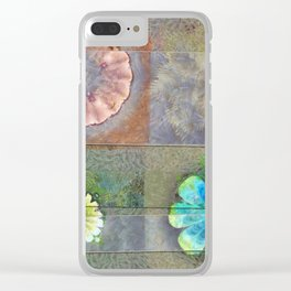 Fast Actuality Flower  ID:16165-084338-75791 Clear iPhone Case