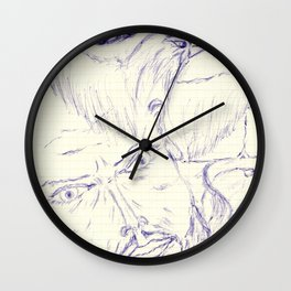 Flying Thoughts Wall Clock