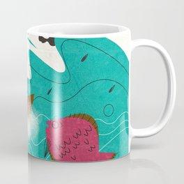 Old Man and the Sea Coffee Mug