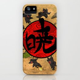 akatsuki iPhone Case
