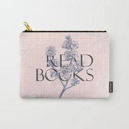 Read Books vintage typography Carry-All Pouch
