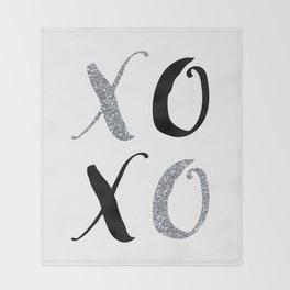 XOXO Throw Blanket