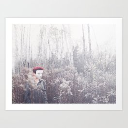 Colourless World Art Print